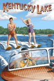 Kentucky Lake, Kentucky - Water Skiing Posters by  Lantern Press