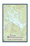 Lake Winnipesaukee, New Hampshire - No Icons Posters by  Lantern Press