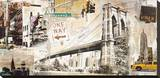 Manhattan Stretched Canvas Print by Tyler Burke