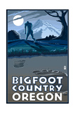 Oregon Bigfoot Country Prints