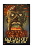 Salt Lake City, Utah - City of the Dead Prints by  Lantern Press