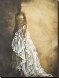 Il Vestito Bianco Stretched Canvas Print by Andrea Bassetti
