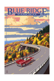Linn Cove Viaduct - Blue Ridge Parkway Posters by  Lantern Press