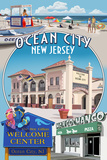 Ocean City, New Jersey - Montage Prints by  Lantern Press