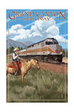 Grand Canyon Railway, Arizona - 295 Diesel Poster