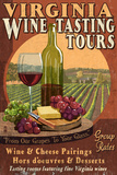 Virginia - Wine Vintage Sign Prints by  Lantern Press