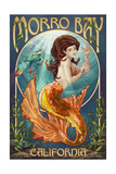 Morro Bay, CA - Mermaid Posters by  Lantern Press