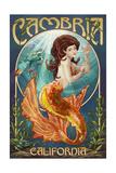 Cambria, California - Mermaid Prints