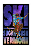 Sugarbush, Vermont - Milky Way Skier Posters by  Lantern Press