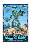 Coral Gables, Florida - Coral Gables vs. Atlantean Invaders Prints
