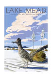 Lake Mead - National Recreation Area - Roadrunner Posters par  Lantern Press