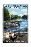 Lake Norman, North Carolina - Pontoon Boats Posters