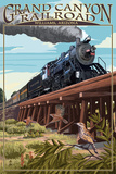 Grand Canyon Railway, Arizona - Trestle Posters by  Lantern Press