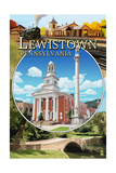 Lewistown, Pennsylvania - Montage Scenes Posters by  Lantern Press