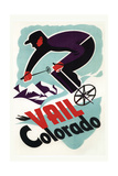 Ski in Vail, Colorado Prints by  Lantern Press