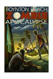 Boynton Beach, Florida - Zombie Apocalypse Prints