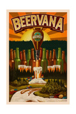 Minnesota - Beervana Tap Posters by  Lantern Press
