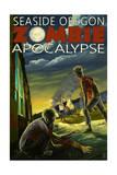 Seaside, Oregon - Zombie Apocalypse Prints