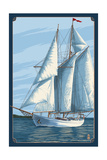 Sailboat Scene Posters by  Lantern Press
