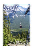 Banff, Canada - Gondola Posters by  Lantern Press