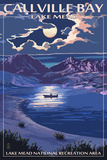 Callville Bay - Lake Mead National Recreation Area - Night Scene Prints by  Lantern Press