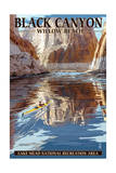 Lake Mead - National Recreation Area - Black Canyon Kayaker Posters by  Lantern Press