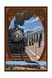 Grand Canyon Railway, Arizona - Williams Depot Poster