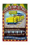 Wildwood, New Jersey - Tram Car Sign Prints by  Lantern Press