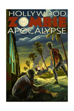 Hollywood, Florida - Zombie Apocalypse Prints