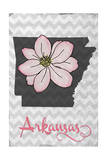 Arkansas - State Flower - Apple Blossom Prints by  Lantern Press