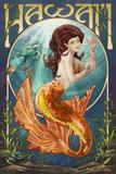 Mermaid - Hawaii Posters