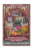 Denver, Colorado - Farmers Market Vintage Sign Prints by  Lantern Press