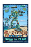 Ocean City, New Jersey - Invaders from the Deep Posters by  Lantern Press