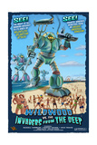 Wildwood, New Jersey - Invaders from the Deep Prints by  Lantern Press