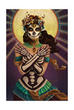 Day of the Dead - Crossbones Prints