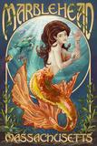 Marblehead, Massachusetts - Mermaid Posters by  Lantern Press