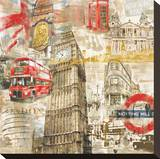 In London Stretched Canvas Print by Tyler Burke