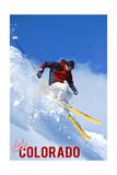 Colorado - Skier Plakater av  Lantern Press