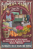 Breckenridge, Colorado - Farmers Market Vintage Sign Posters by  Lantern Press