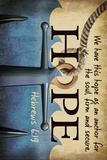 Hebrews 6:19 - Inspirational Affiches par  Lantern Press