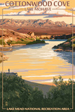 Lake Mohave, Nevada - Lake Mead National Recreation Area - Cottonwood Cove Poster
