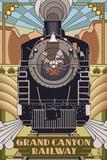 Grand Canyon Railway, Arizona - Deco Design Posters