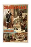 "Ashland, Oregon - William Shakespeare ""Hamlet"" Theatre Poster Prints"