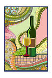 Wine Whimsical Posters