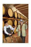 Wine Barrels Prints