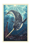 Narwhal Posters by  Lantern Press