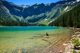 Glacier National Park, Montana - Avalanche Lake Prints by  Lantern Press