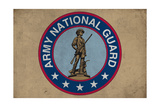 Army National Guard - Military - Insignia Posters by  Lantern Press