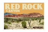 Red Rock Canyon - Las Vegas, Nevada Posters by  Lantern Press