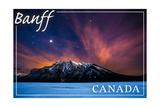 Banff, Canada - Minnewanka Lake Prints by  Lantern Press